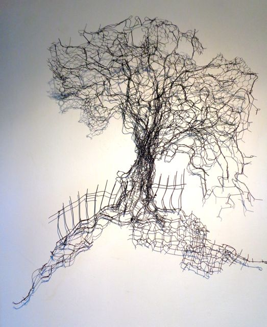 Wire work of tree