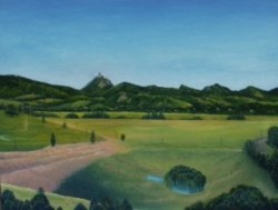 Murwillumbah oil painting